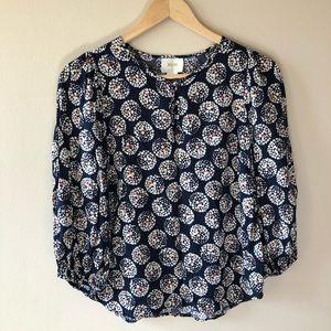 Maeve 3/4 sleeve blouse.